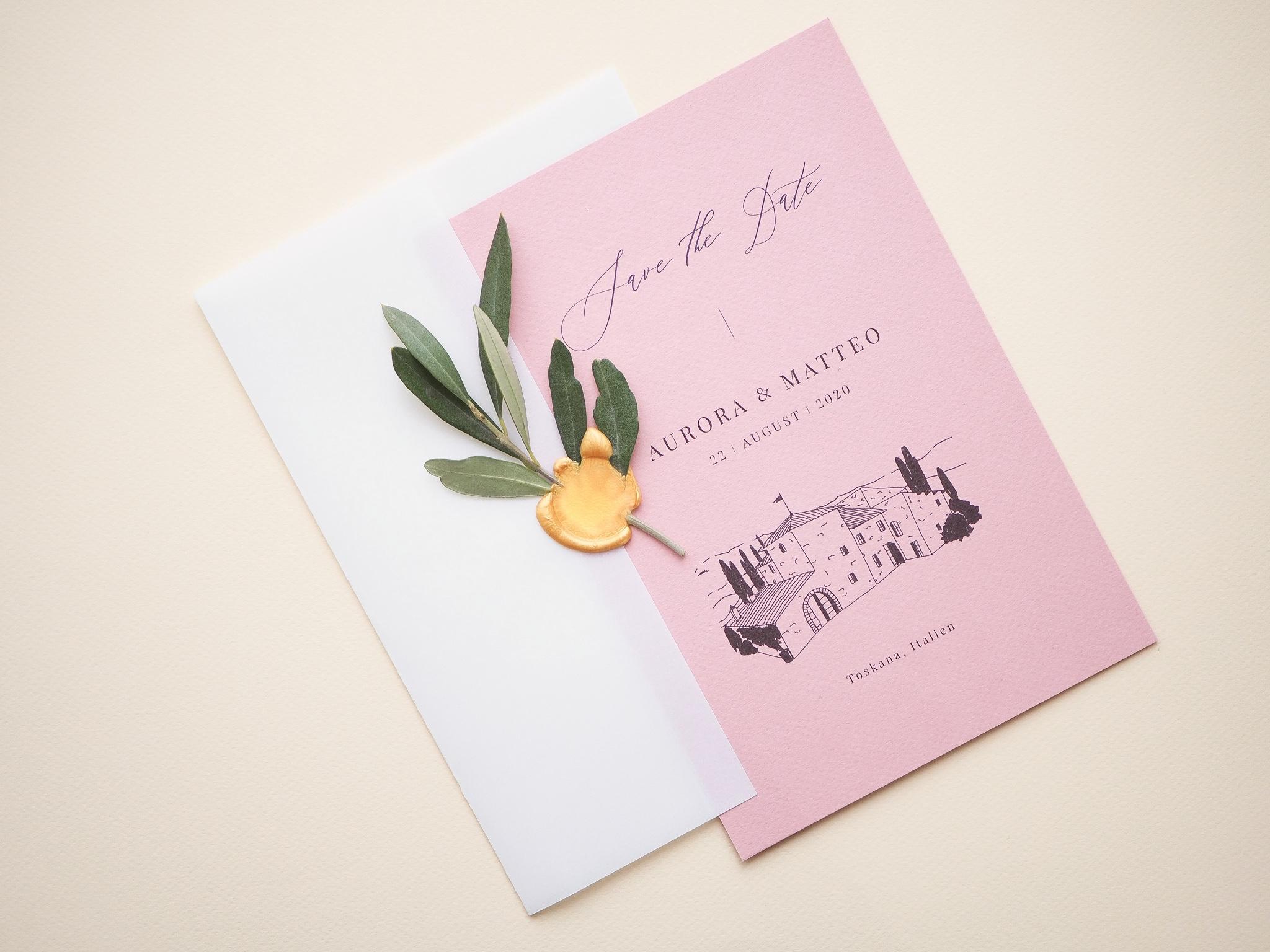 Toskana Hochzeit
