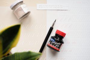 Die 4 perfekten Anfänger-Tools, die dir das Kalligrafie lernen einfach machen!