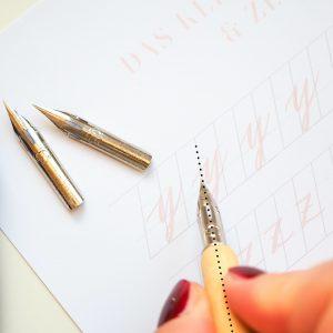 """Workshop Gutschein: """"Kalligrafie für Starter"""""""