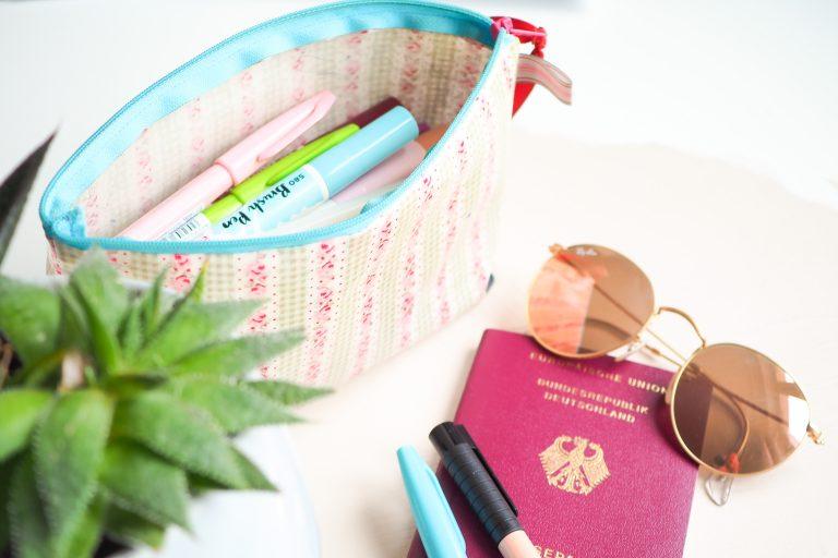 Brush Pens Aufbewahrung Reisen