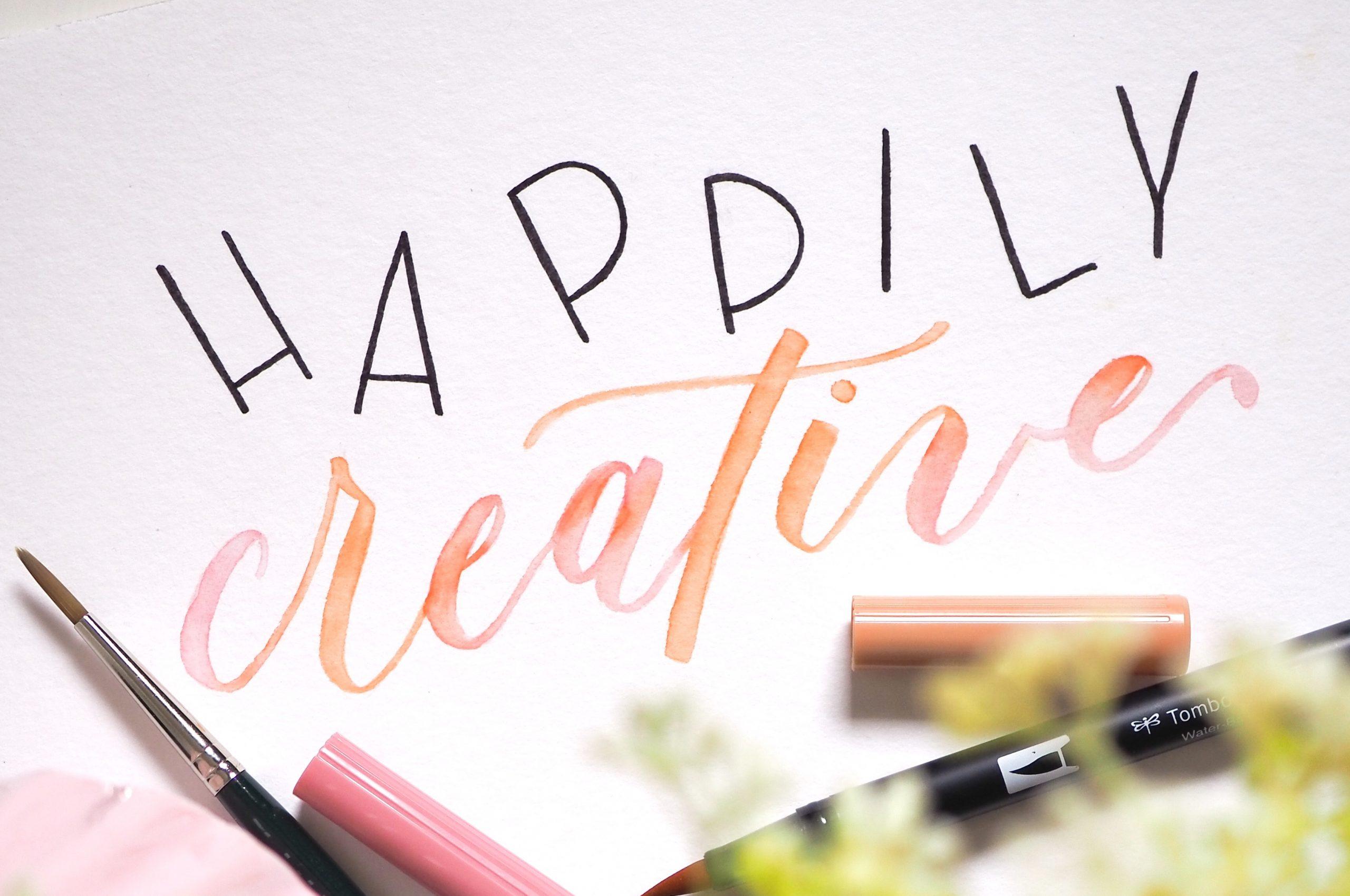happily creative: Was hat eigentlich glücklich sein mit Kreativität zu tun? (1/2)