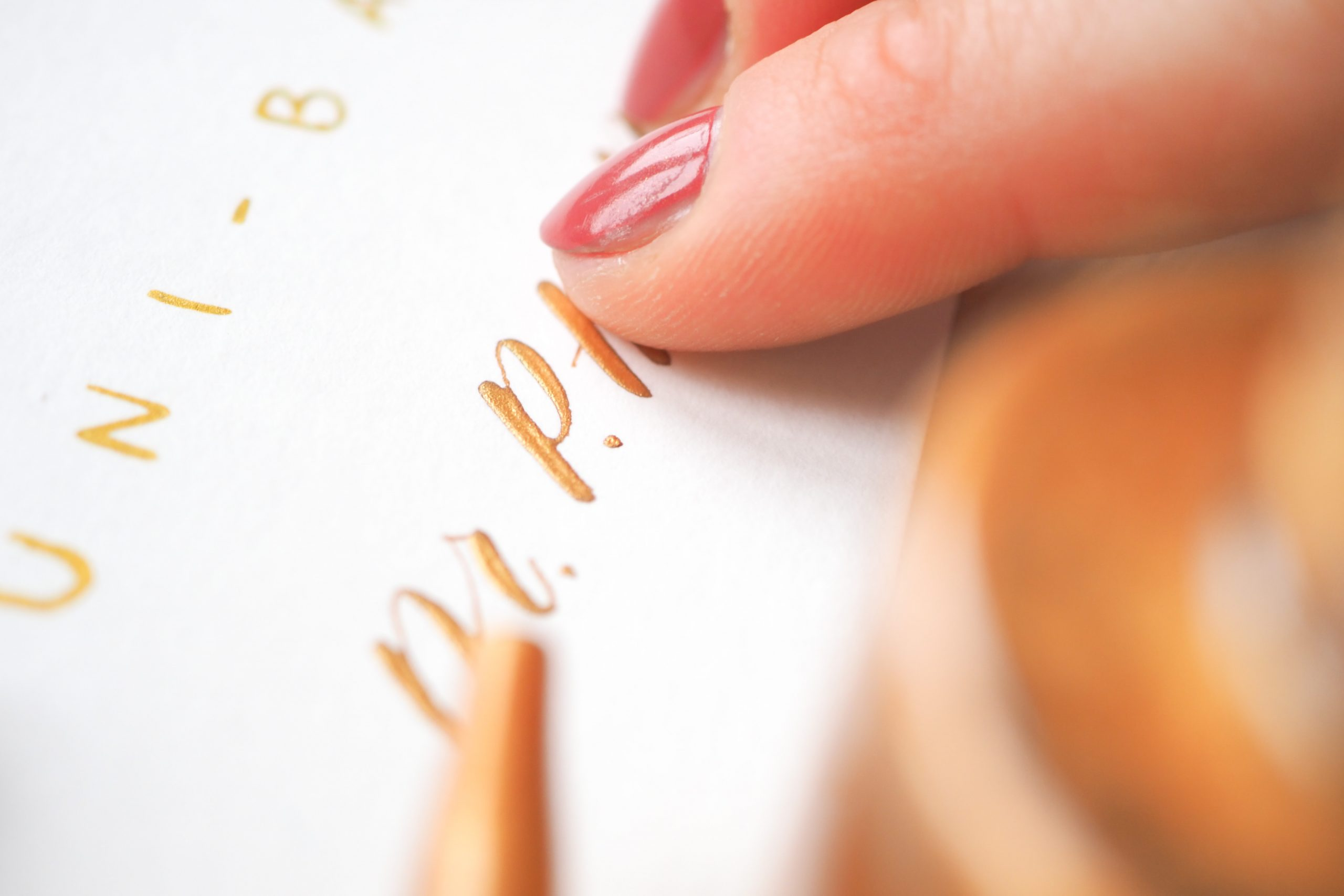 Die perfekten Farben zum Verzieren deiner Aquarelle und Letterings in der Adventszeit