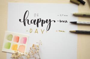 Lettering Material für Anfänger: Welche 3 Dinge du für den Start wirklich brauchst