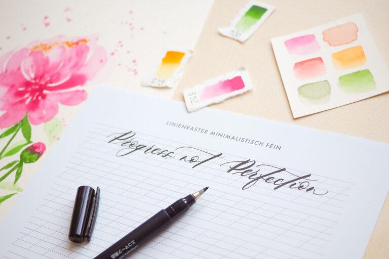 Perfektionismus ablegen für glückliche und entspannte Kreativzeit im Alltag: So geht's!
